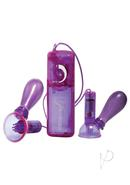 Vibrating Nipple Pumps Purple