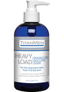 Titanmen Heavy Load Silicone Based Lubricant Glide 8 Ounce...