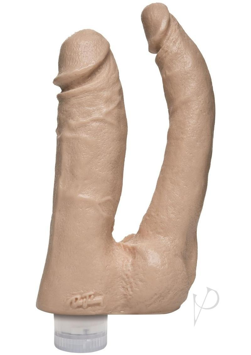 The Naturals Vibro Double Penetrator Flesh